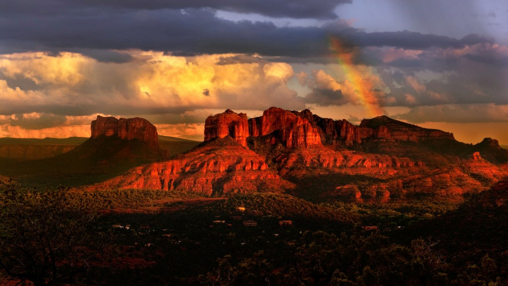 Beautiful Sedona Arizona during sunset